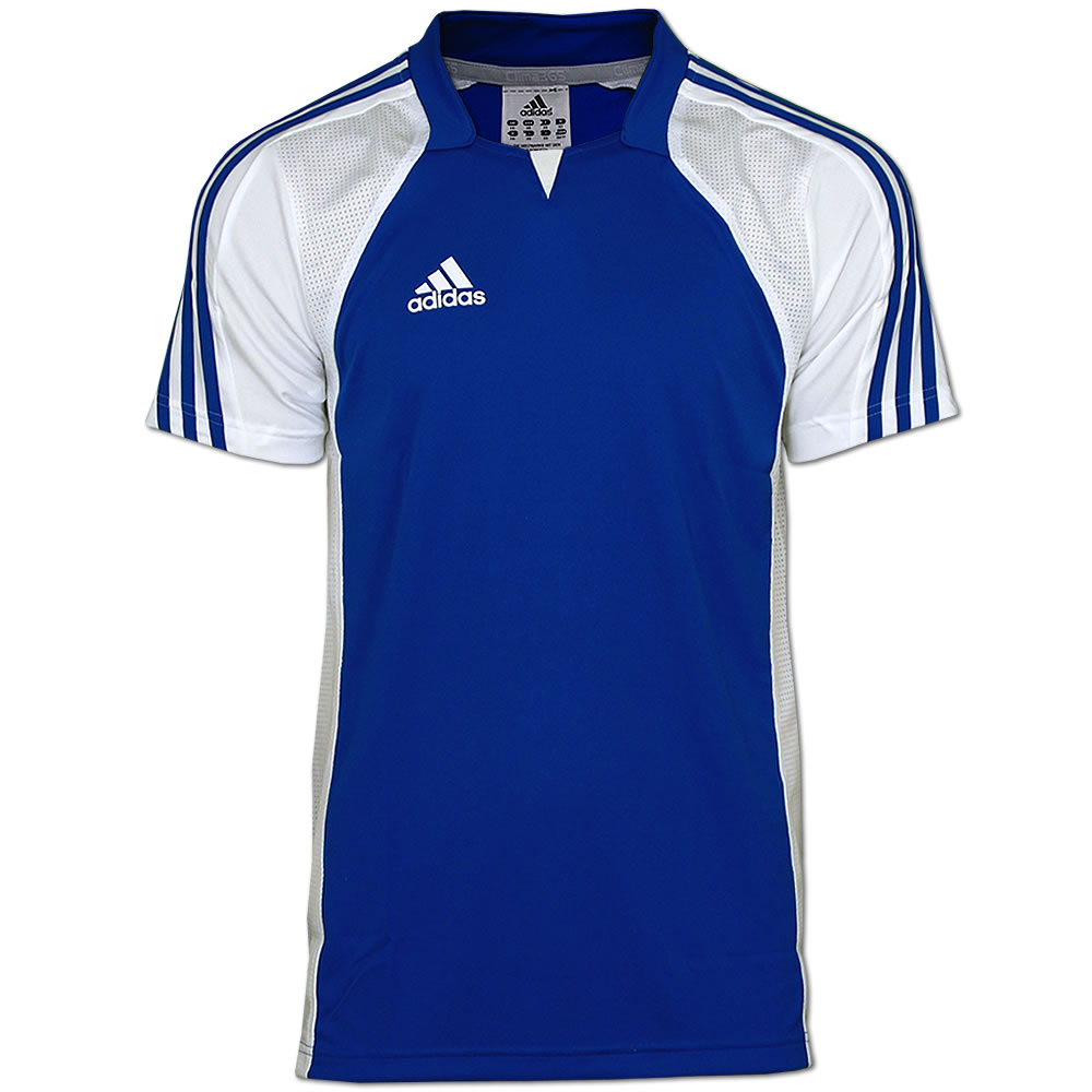 adidas climacool shirt trikot xs xxl fitness shirt handball jersey blau wei ebay. Black Bedroom Furniture Sets. Home Design Ideas