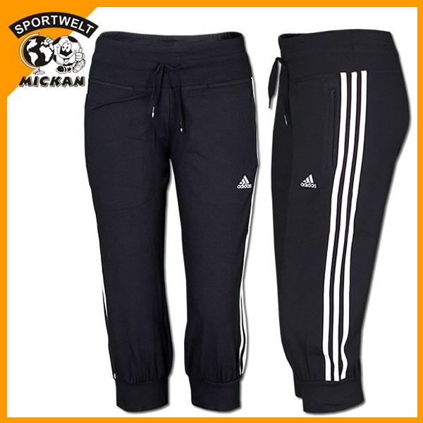 ADIDAS ESS 3S 3/4 PANT Caprihose [48-XL] Workout Hose Sporthose ...