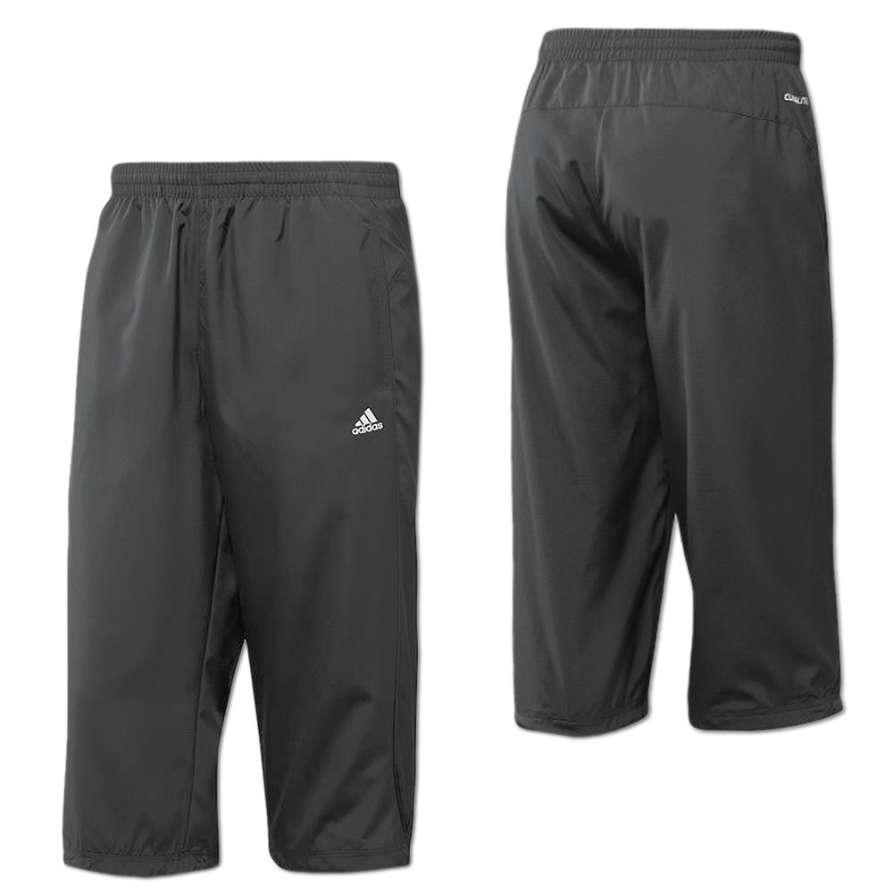 adidas herren 3 4 hose essentials trainingshose fitness sporthose freizeithose ebay. Black Bedroom Furniture Sets. Home Design Ideas
