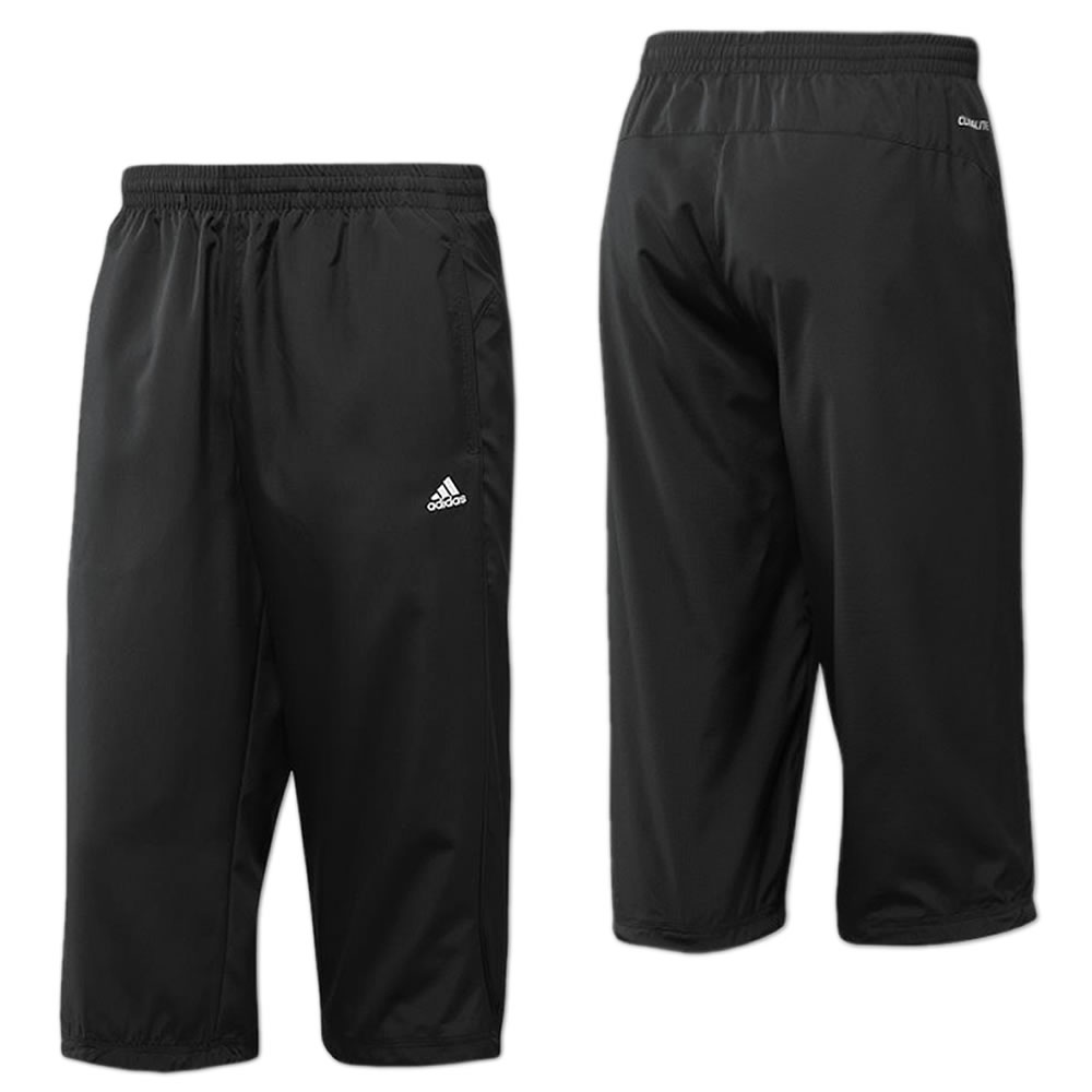 adidas herren 3 4 hose essentials trainingshose fitness. Black Bedroom Furniture Sets. Home Design Ideas