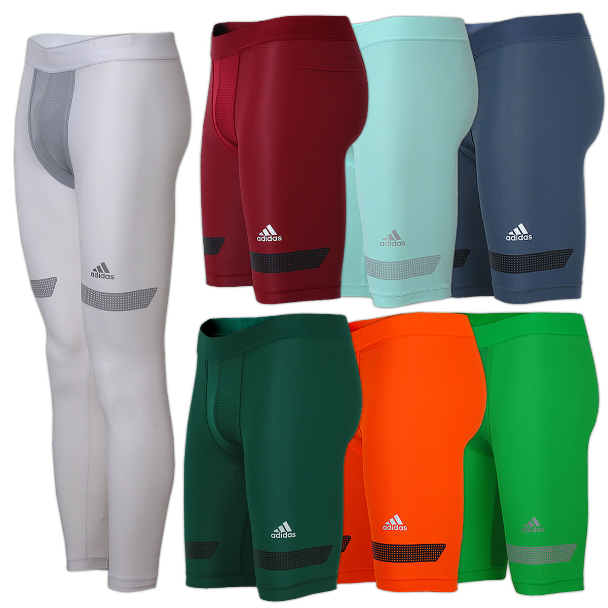 25b37eb4c5e2 adidas Herren Techfit Chill Tight Unterhose Laufhose Fußball Running  Kompression