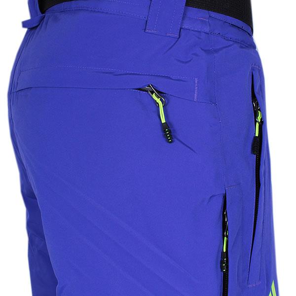 adidas Coach Pant Wintersporthose blau gelb (A95206)