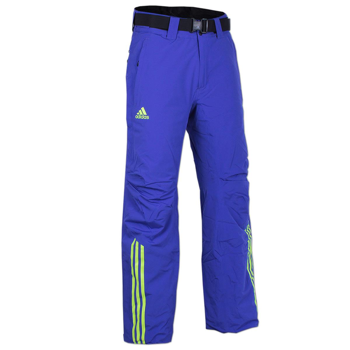 0bace3f8a98d adidas Herren Coach Pant Skihose Snowboardhose Wintersporthose Outdoorhose  blau