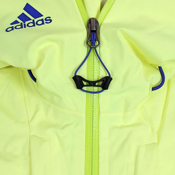 adidas Damen Coach Jacke gelb blau (A95776)