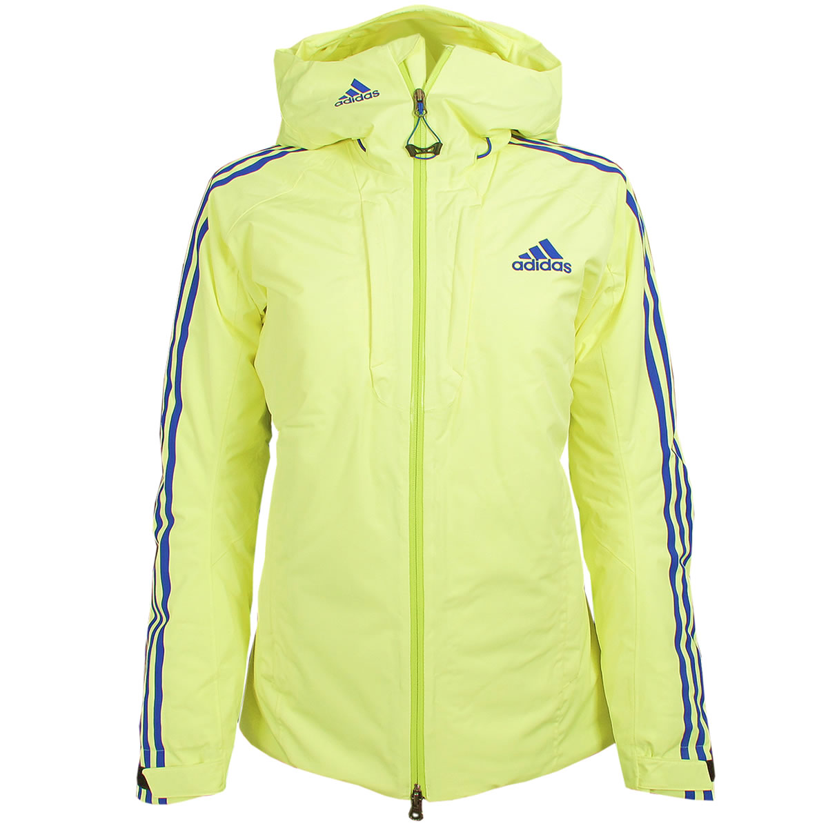 adidas Damen Cross Country Coach Jacke mit Kapuze
