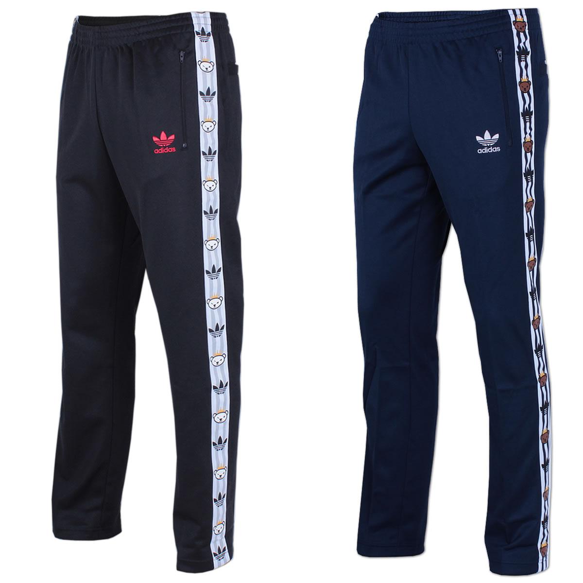 good out x new york half off adidas Originals Trainingshose Retro Bear Track Pant Trefoil ...