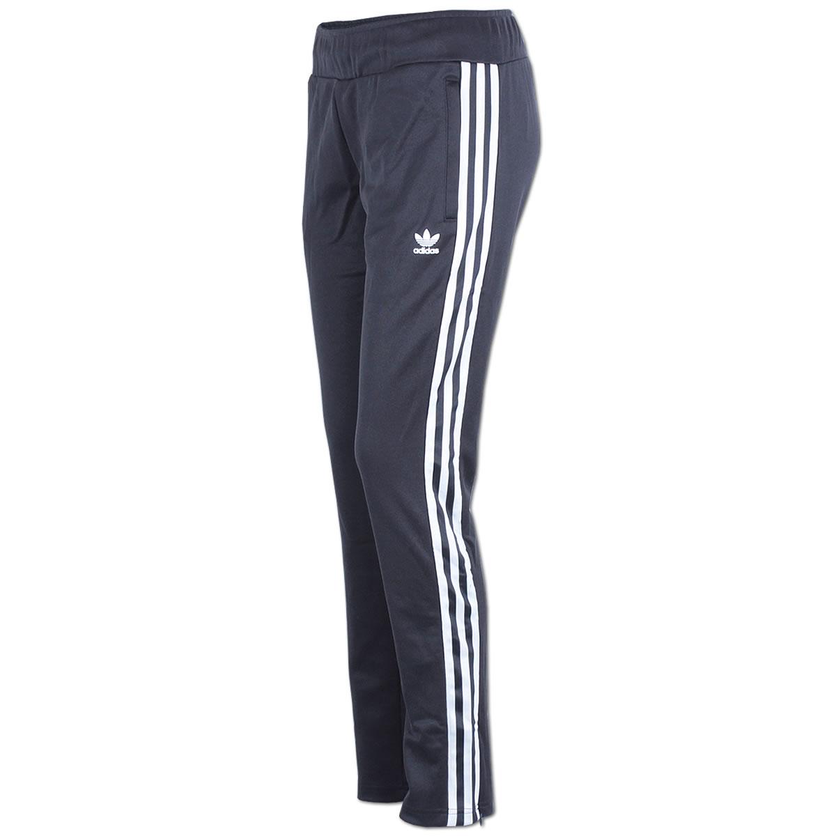 14f1597dff3e24 adidas Damen Hose Europa Track Pant Trainingshose Sporthose Jogginghose  schwarz