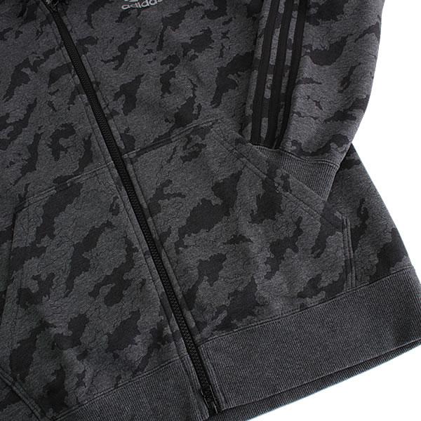 adidas Camouflage Training Full Zip Hoody grau schwarz (AJ7901)
