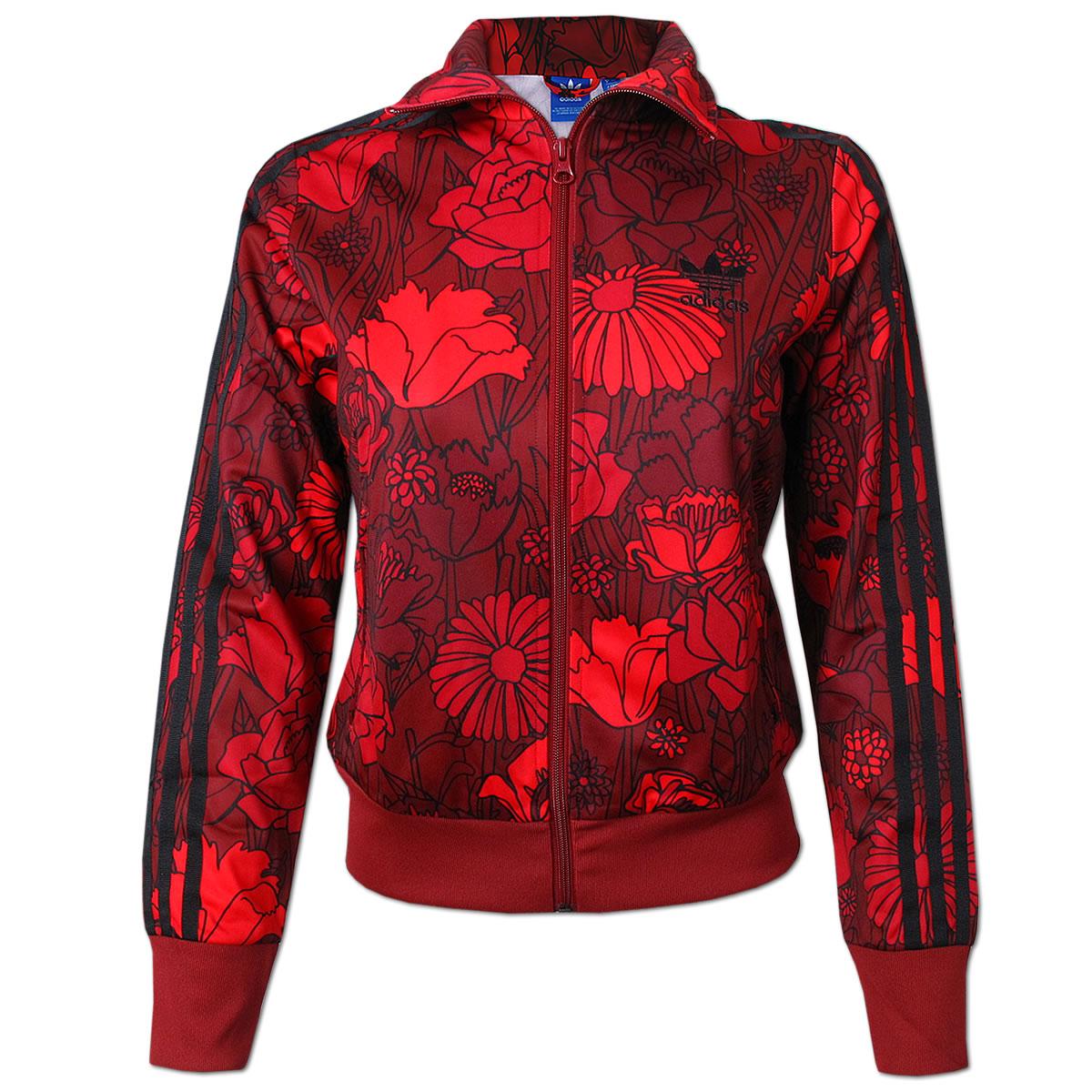 adidas Firebird Track Top Jacke rot multicolor (AY7946)