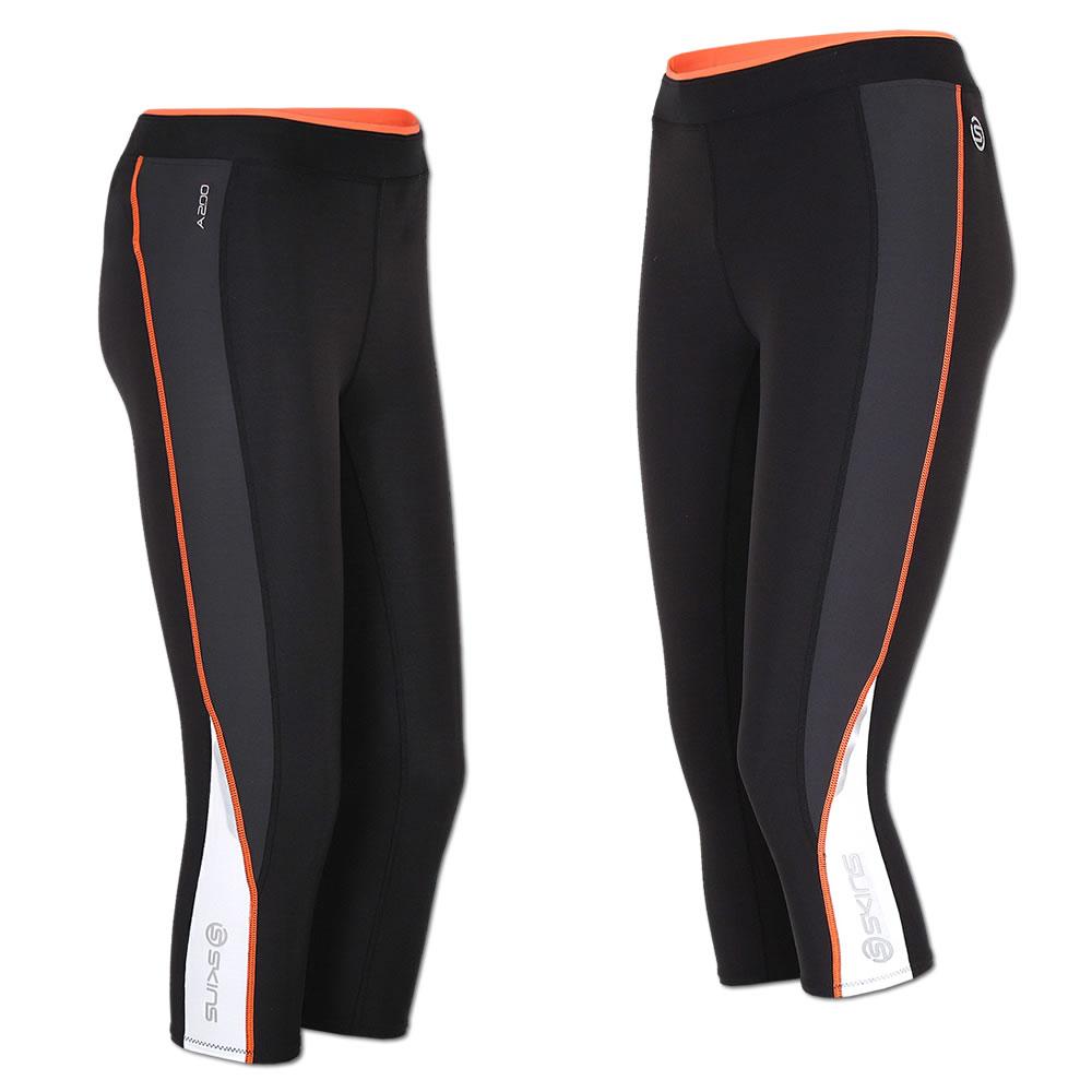 adidas Damen Fitness Techfit Part Wild Long Tight schwarz UV Schutz 50+, Größe:S