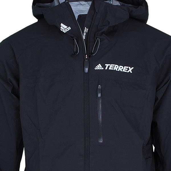 adidas Terrex Fast R Gore Tex Active Shell Jacke schwarz