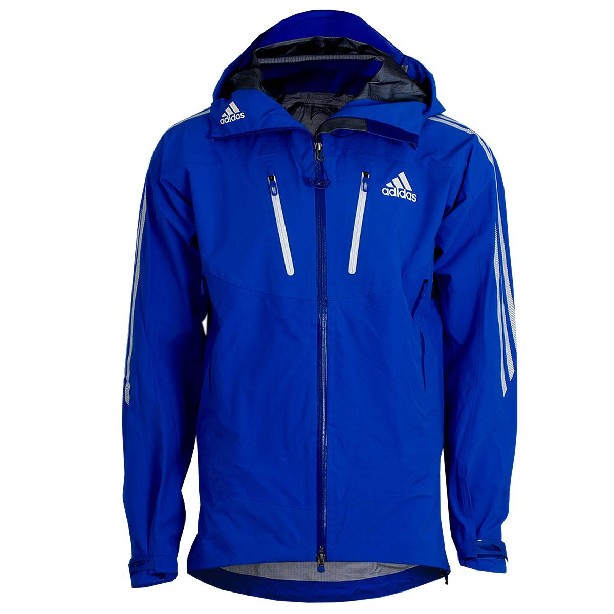 adidas Herren Terrex Icefeather Jacke Gore-Tex Pro Outdoor Jacket blau-weiß  NEU 1795ad2f81