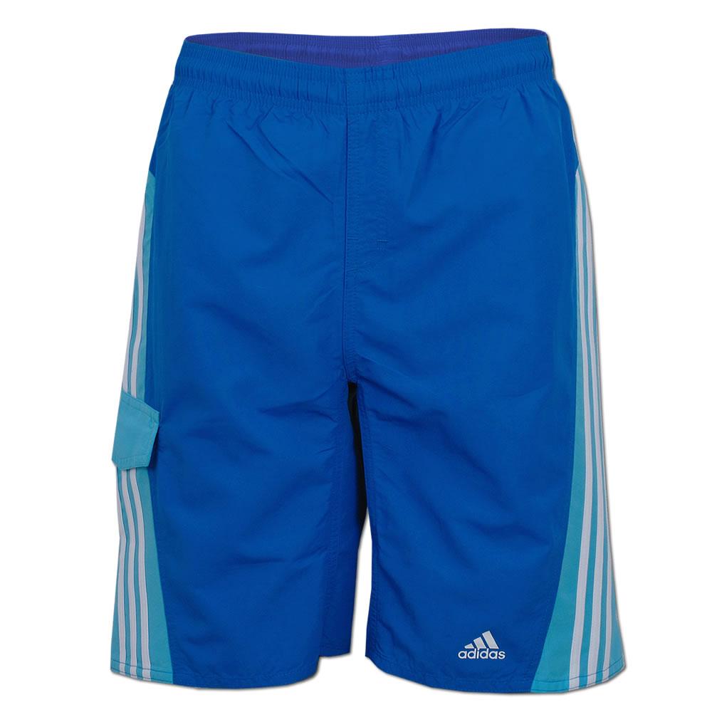 adidas 3 Streifen Colorblock Short Boys CL blau (F76868)