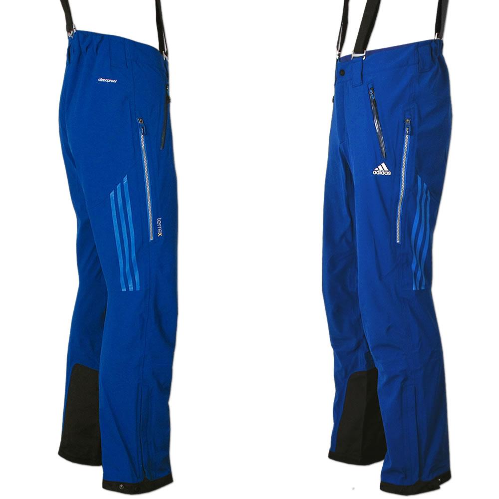 33279f8e46b6 adidas Herren Terrex 3-Lagen Blaueis Pant Outdoor ClimaProof Storm  Skitouren NEU