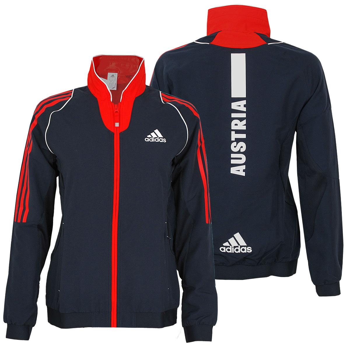 adidas Damen Präsentation Jacke Teamjacke Trainingsjacke