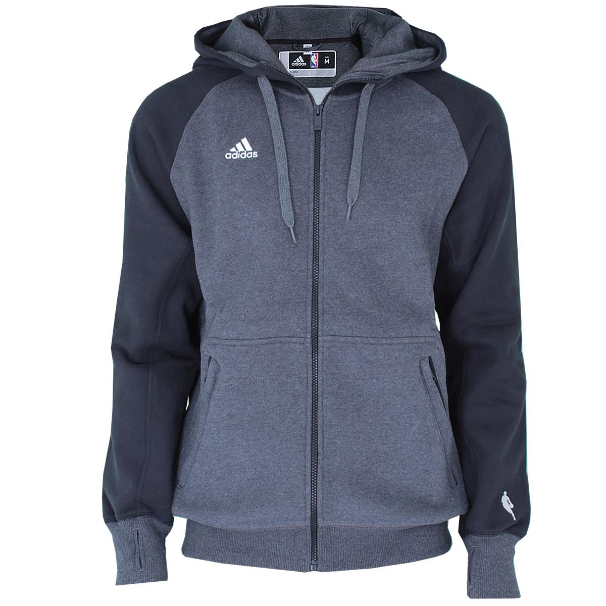 adidas Herren Jacke NBA Sweatjacke Kapuzenjacke PSTGM FZ