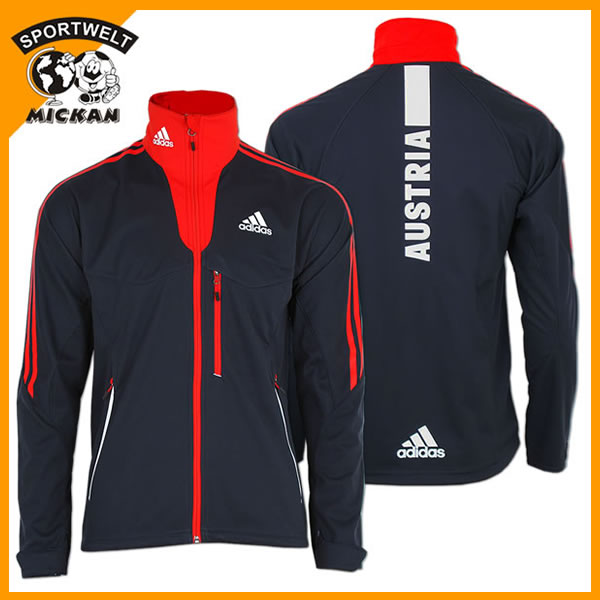 Adidas Climaheat Hoody Fleece Jacke Orange Aa1867