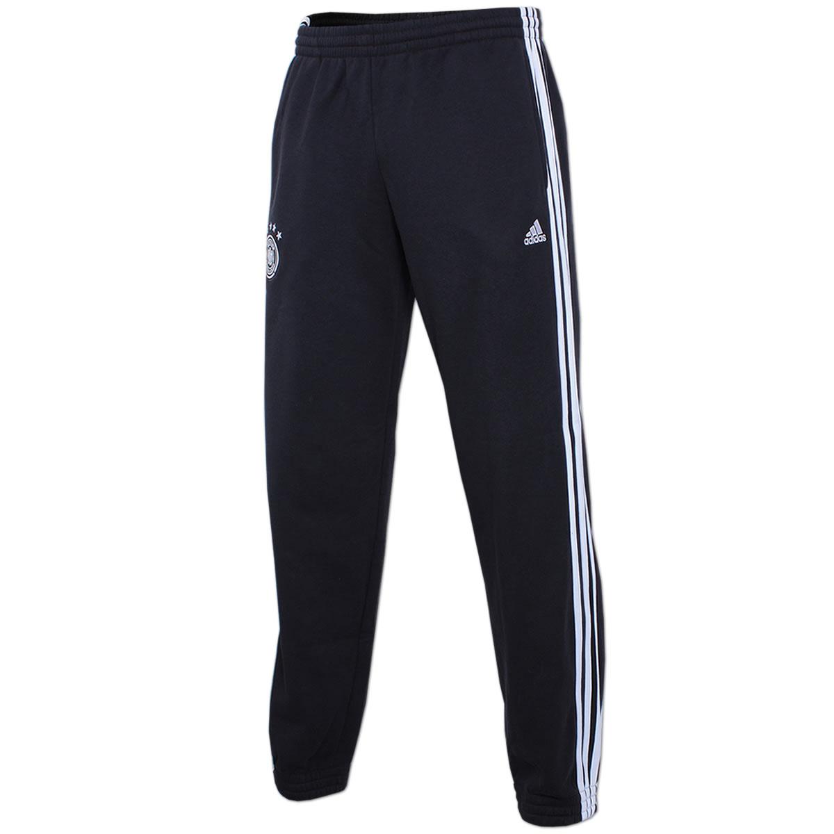 e9d11fb0414c8e adidas Herren DFB Pant Trainingshose Fußballhose Sweat Pant Sporthose 4  Sterne