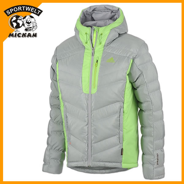 adidas Climaheat Hoody Fleece Jacke orange (AA1867)