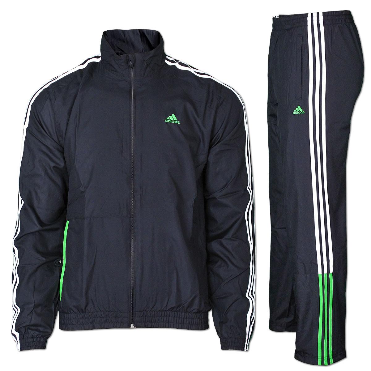 Herren Trainingsanzug Jogginganzug von Adidas M